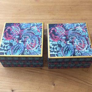 Lilly Pulitzer trinket/jewelry box
